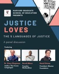JusticeLoves Harvard Panel